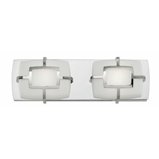 Hinkley Lighting Sisley 2-Light Bath Bar