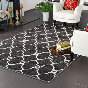 Purchase Gettinger Black Indoor/Outdoor Area Rug By Charlton Home