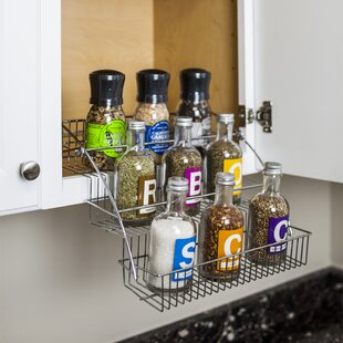 9 Jar Spice Jar & Rack Set