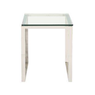 Smoked Glass End Tables | Wayfair