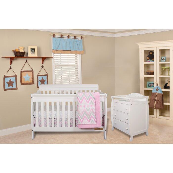 Josefina Convertible Standard 3 Piece Nursery Furniture Set
