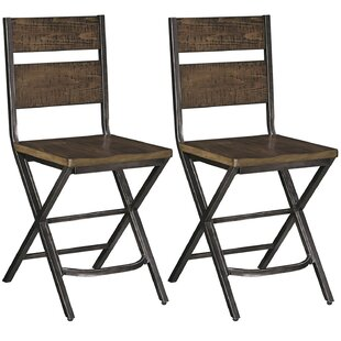 Ravenden Solid Wood Dining Chair (Set Of 2) By Loon Peak