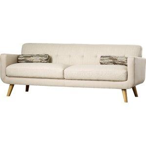 Phoebe Tufted Sofa by Mercury Row