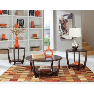 Ophelia 3 Piece Coffee Table Set By Wade Logan