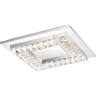 Makaila 1-Light LED Flush ..