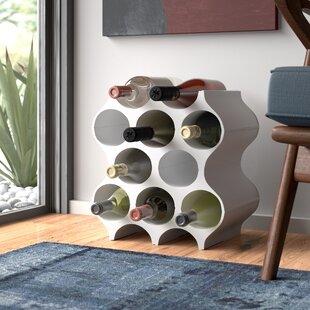 Set-Up 10 Bottle Wine Rack By Koziol