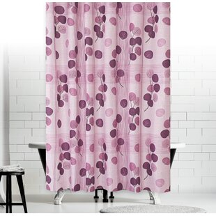 Leaves Fabric Extra Long And Wide Shower Curtain