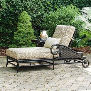 Tommy Bahama Outdoor Marimba Chaise Lounge with Cushion