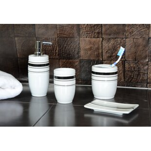 Darby Home Co Lien 18 Piece Bathroom Accessory Set