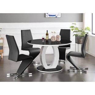 Quinto Dining Set With 4 Chairs By Wade Logan