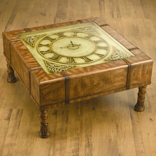 Eveleth Clock Coffee Table Astoria Grand