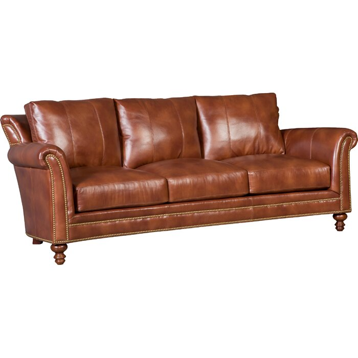 Richardson Stationary Leather Sofa