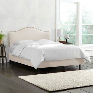 Dino Upholstered Panel Bed by Skyline Furniture