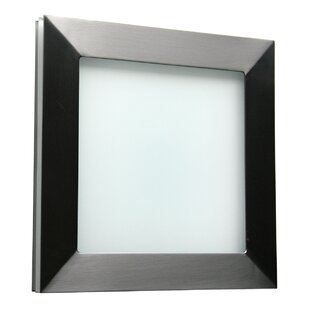 Basic Techo 1-Light Outdoor Flush Mount By WPT Design Outdoor Lighting