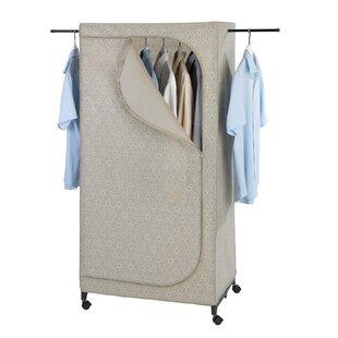 Merrow 75cm Wide Wardrobe By Rebrilliant
