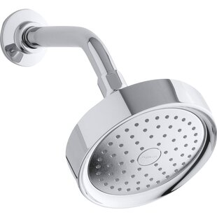 Kohler Purist 2.5 GPM Single-Function Wall-Mount Shower Head with Katalyst Air-Induction Spray