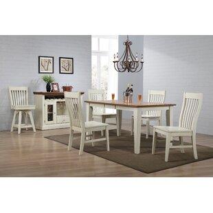 Yvonne Slat Back Dining Chair (Set of 2)