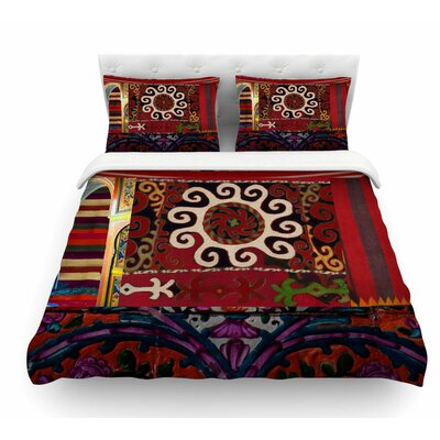 burst of diverse by s seema z ethnic duvet cover