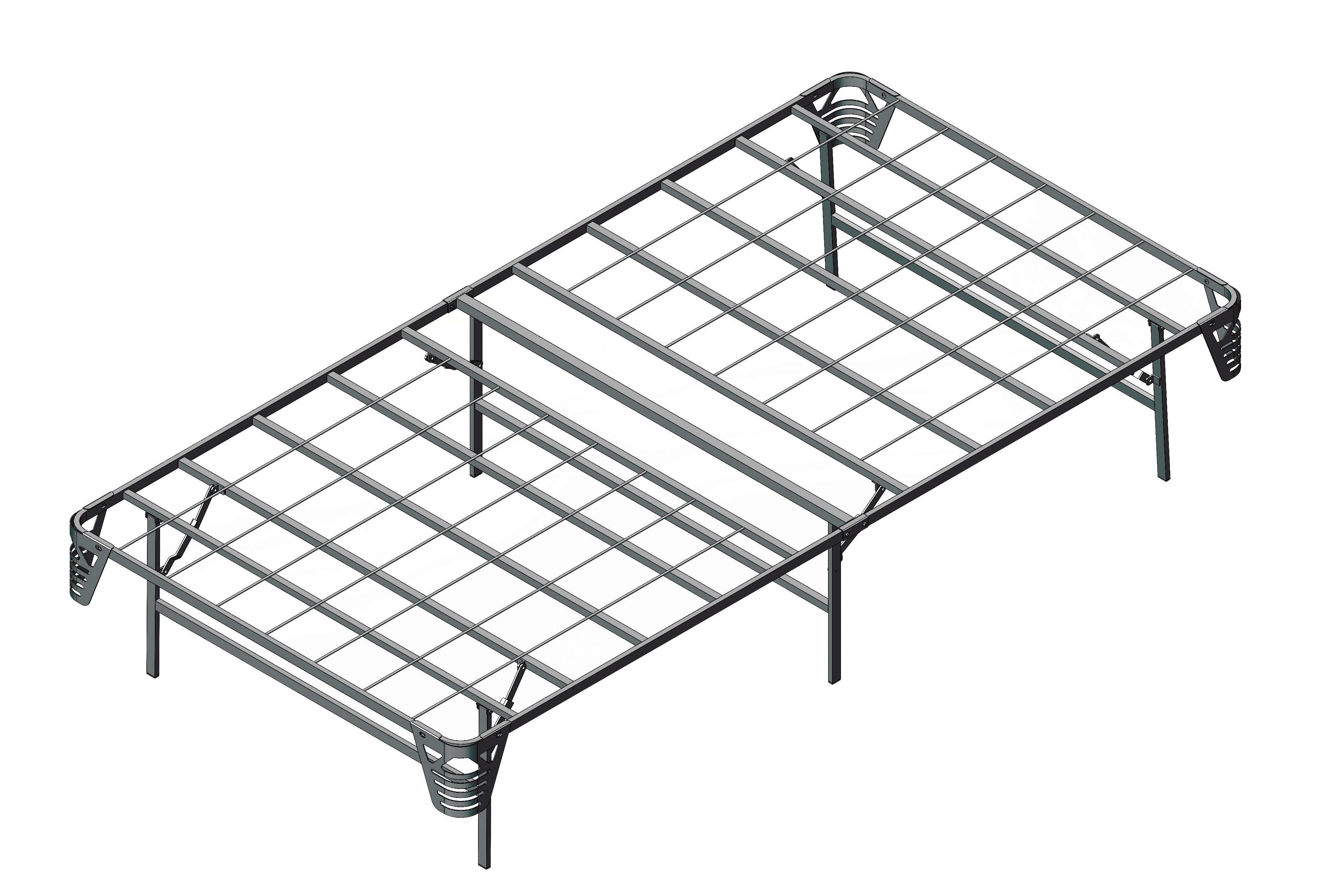 Alwyn Home Salma 14 Wire Grid Bed Frame Wayfair
