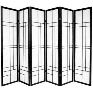 Clara Shoji 6 Panel Room Divider