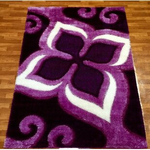 Look for Gloria Purple Area Rug By Bekmez International Inc.