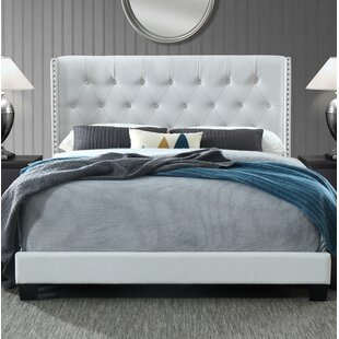 Adella Queen Upholstered Panel Bed