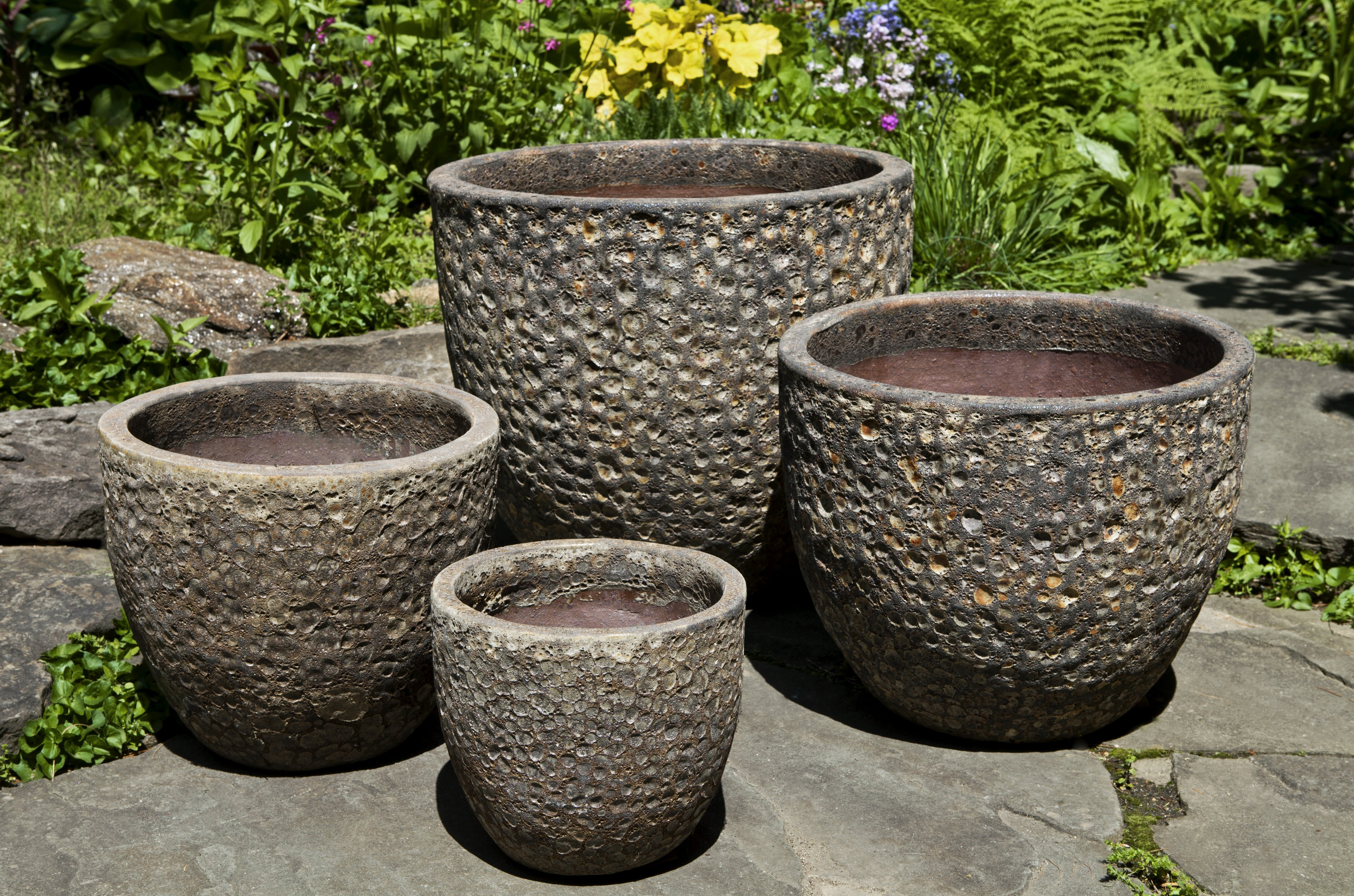 Bloomsbury Market Bolivar 4 Piece Terracotta Pot Planter Set Wayfair