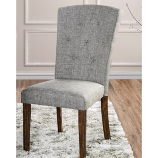 Villanueva Transitional Upholstered Dining Chair (Set of 2)