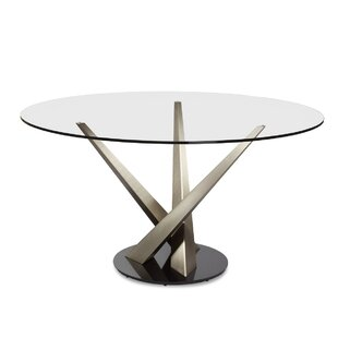 Crystal Dining Table by Elite Modern