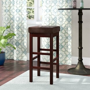 Kimberling 31 Wood Bar Stool Red Barrel Studio