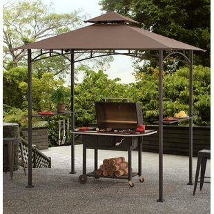 Meijer 5 Ft. W x 8 Ft. D Metal Grill Gazebo by Sunjoy