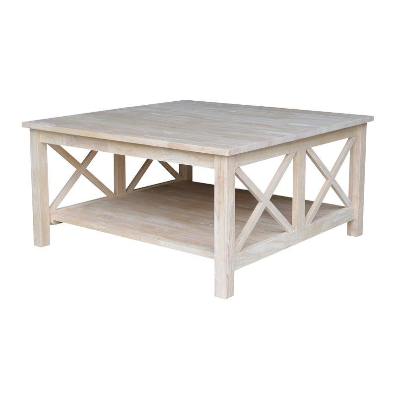 loon peak walden wood coffee table & reviews | wayfair