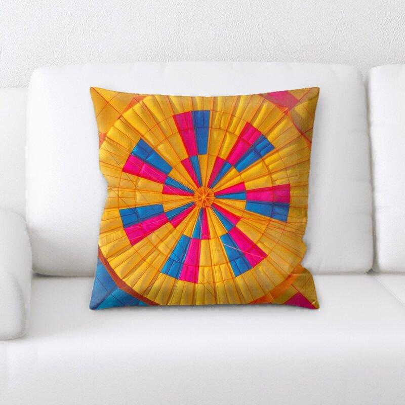 East Urban Home Sharp Colors Throw Pillow Wayfair