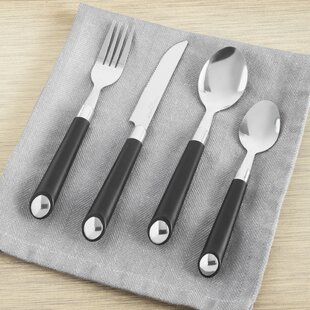 17 Piece Flatware Set, Service For 4