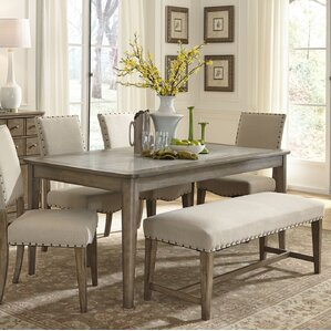 Amity Leg Dining Table by Lark Manor