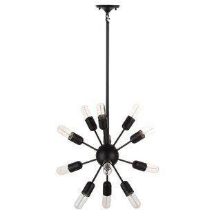 Brayden Studio Manzella 12-Light Sputnik Chandelier