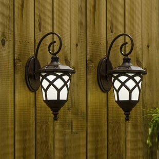 Solar 1-Light Outdoor Wall..