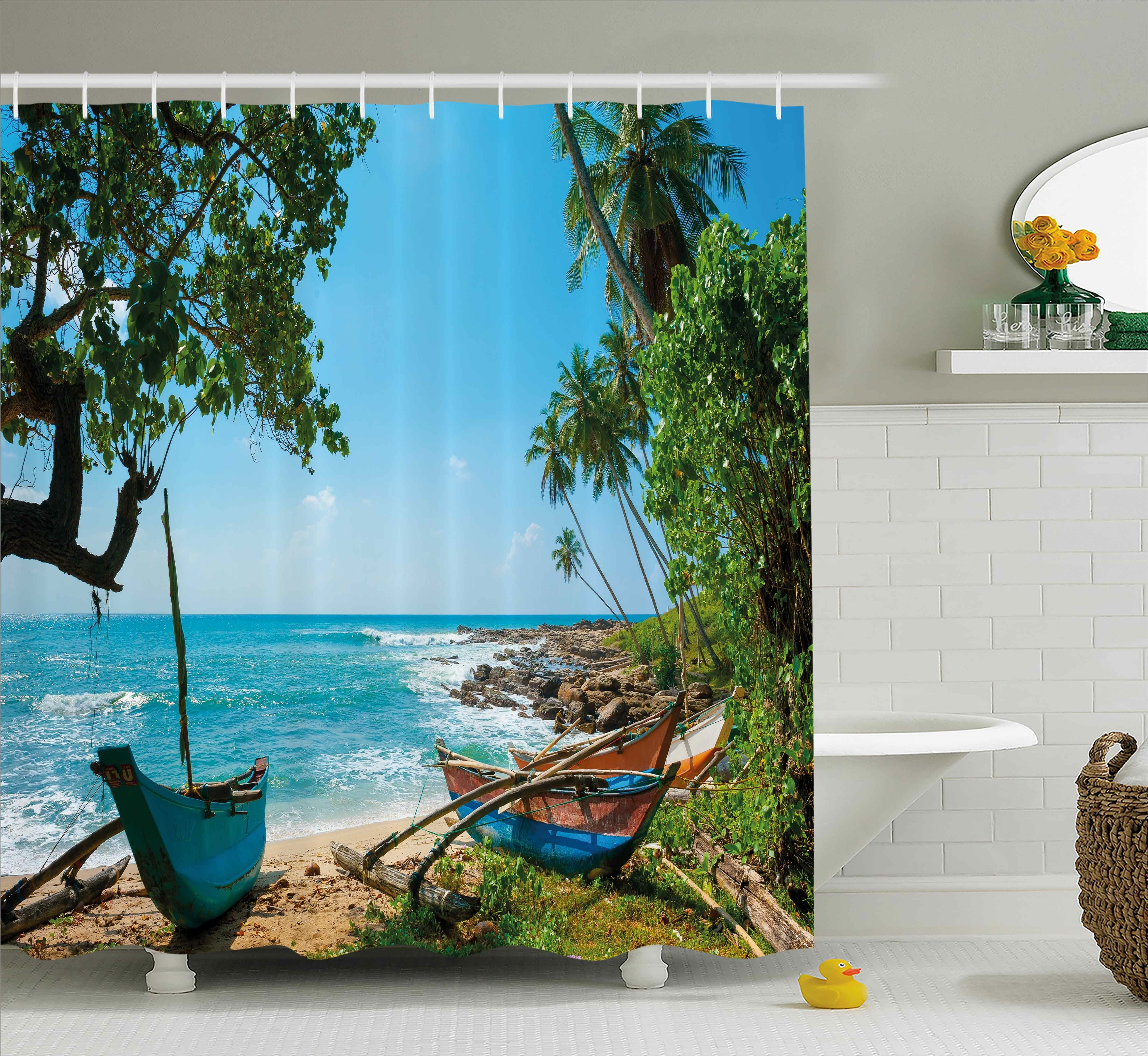 Tropical Beach And Peaceful Ocean: Bayou Breeze Renato Beach Tropical Ocean Scenery With Palm