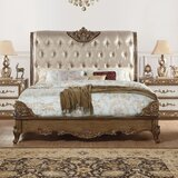 Linzy Upholstered Bed by Rosdorf Park