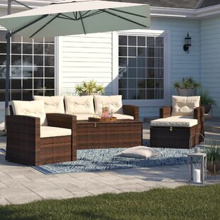 Arlington 5 Piece Sofa Set with Cushions