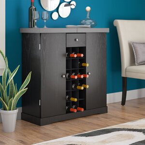 Melina 18 Bottle Floor Wine Cabinet