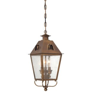 Darby Home Co Meriline 3-Light Outdoor Hanging Lantern