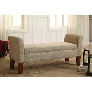 Alcott Hill Davis Upholstered Storage Bench