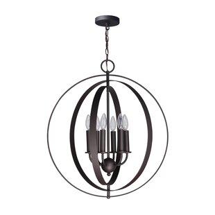 Wrought Studio Lando 6-Light Globe Pendant