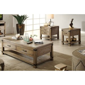 Korbel Coffee Table Set