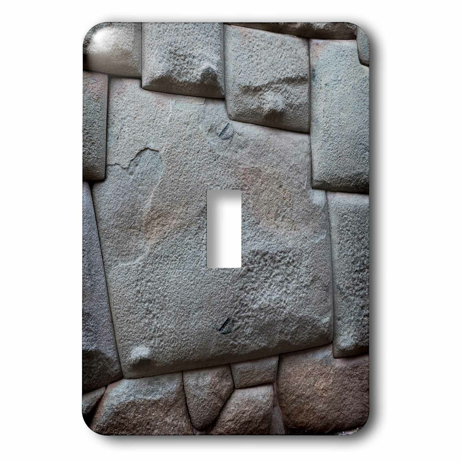 3drose Inca Stonework 1 Gang Toggle Light Switch Wall Plate Wayfair