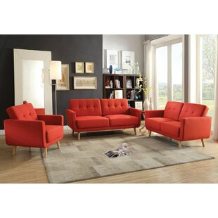 Order Camron 3 Piece Living Room Set by George Oliver Reviews (2019) & Buyer's Guide