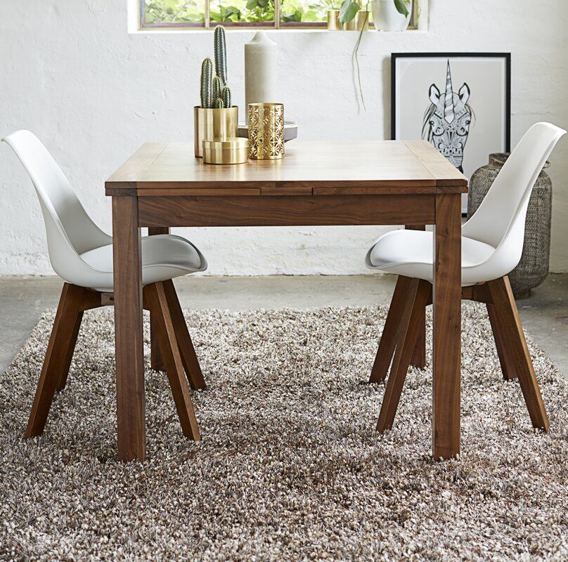 Longoria Square Extendable Dining Table