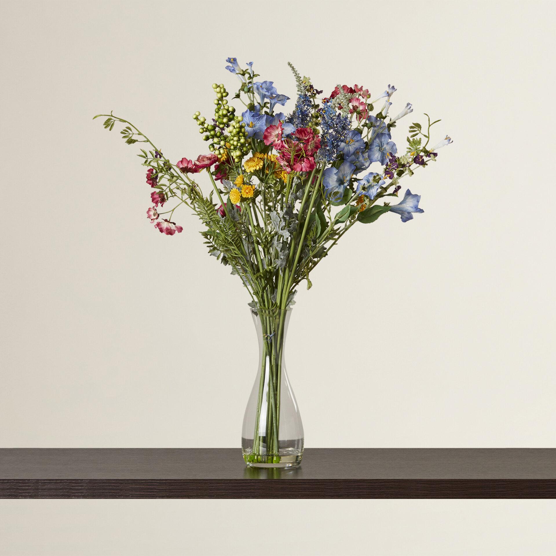 Red Barrel Studio Garden Silk Flower Arrangement Reviews Wayfair