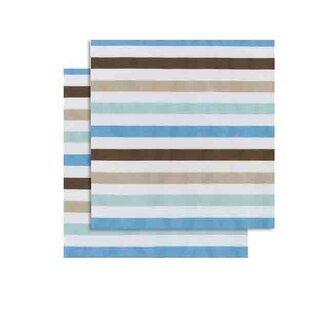 Read Reviews Danise Stripes Fitted Crib Sheets (Set of 2) ByHarriet Bee